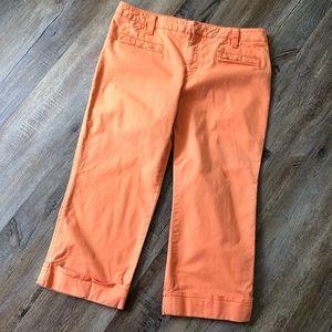 Tommy Hilfiger orange Capri pants size 12